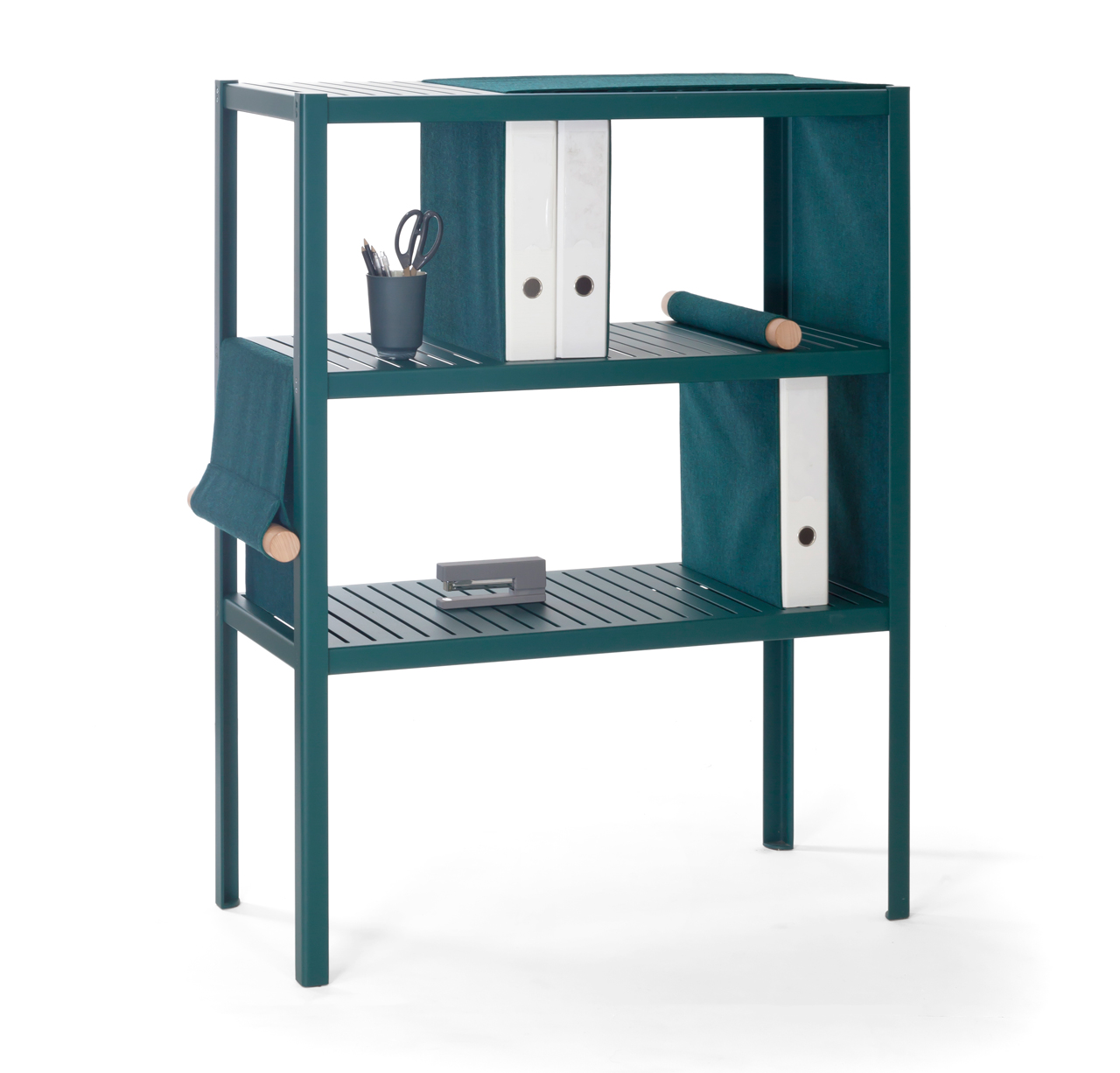 The Dressed Cabinet Incorporates Panels of Fabric You Can Adjust to Customize