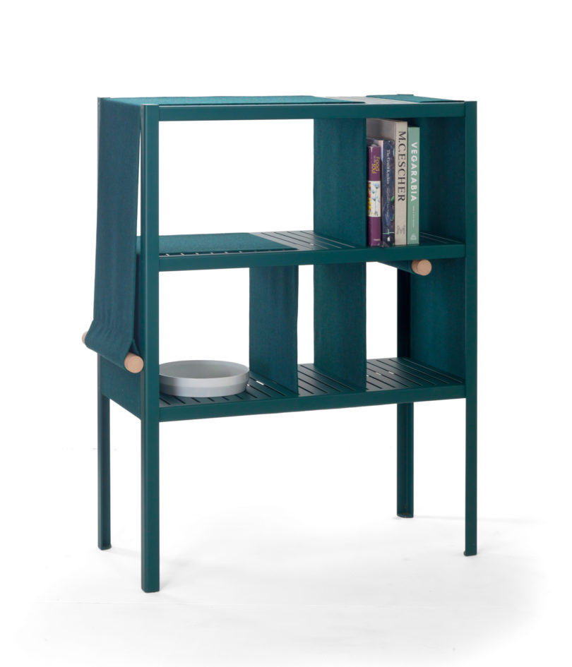The Dressed Cabinet Incorporates Panels of Fabric You Can Adjust ...