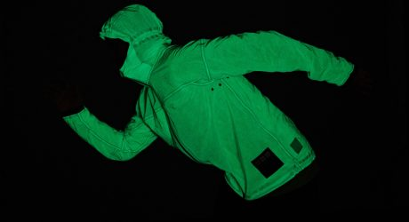The Volleback Solar Charged Jacket Is Glowing Outdoor Wear