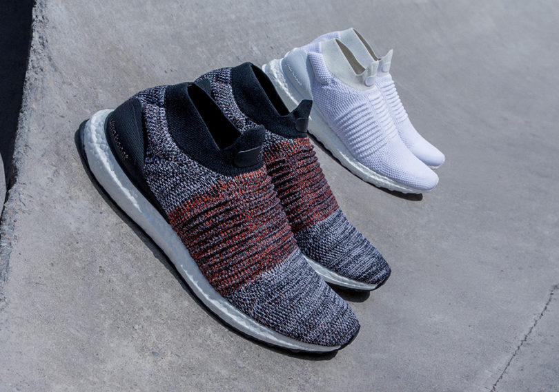 f6824448142a3 The UltraBOOST Laceless feature the characteristically cushioned and  forgiving ride offered by the Boost sole