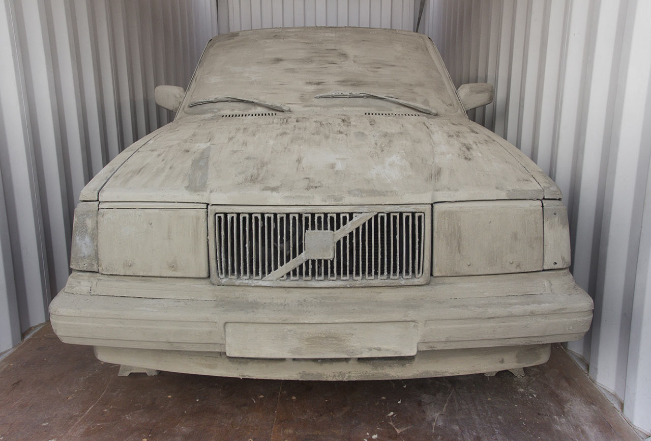 Art Destination: Erik Sommer's Concrete Car