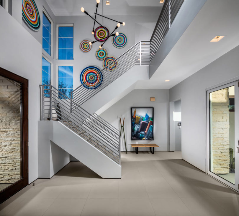 Modern Foyer Art : Bobby berk s tips to change up your décor design