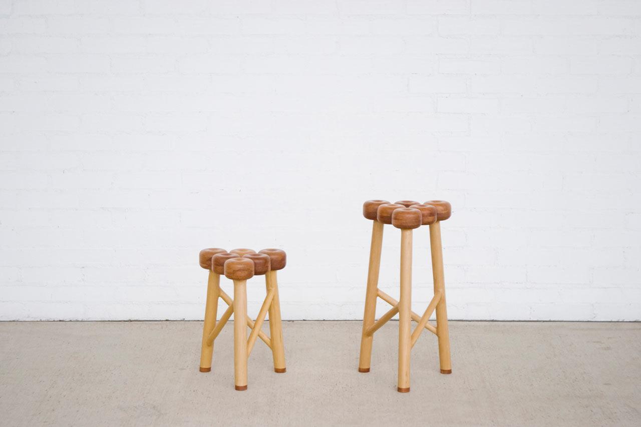 An Apple-Inspired Stool by Takaaki Kamei