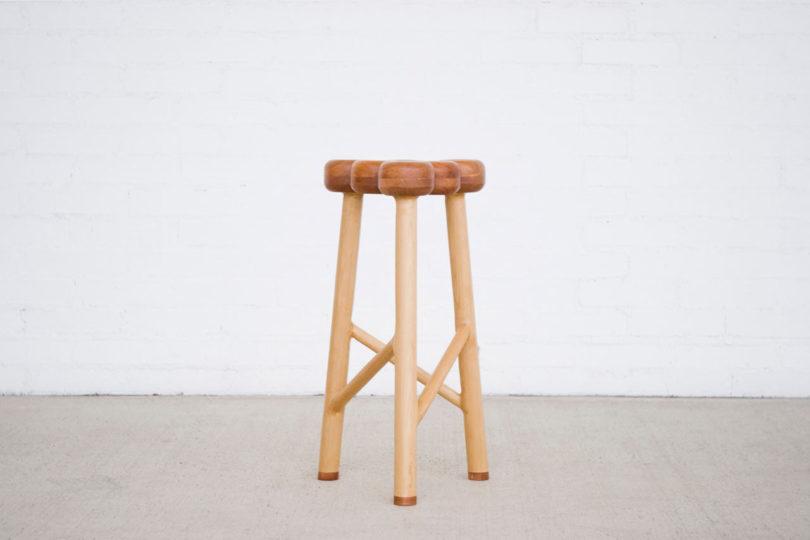 an apple inspired stool by takaaki kamei design milk rh design milk com