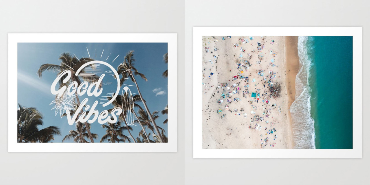 Holding onto Summer with Society6