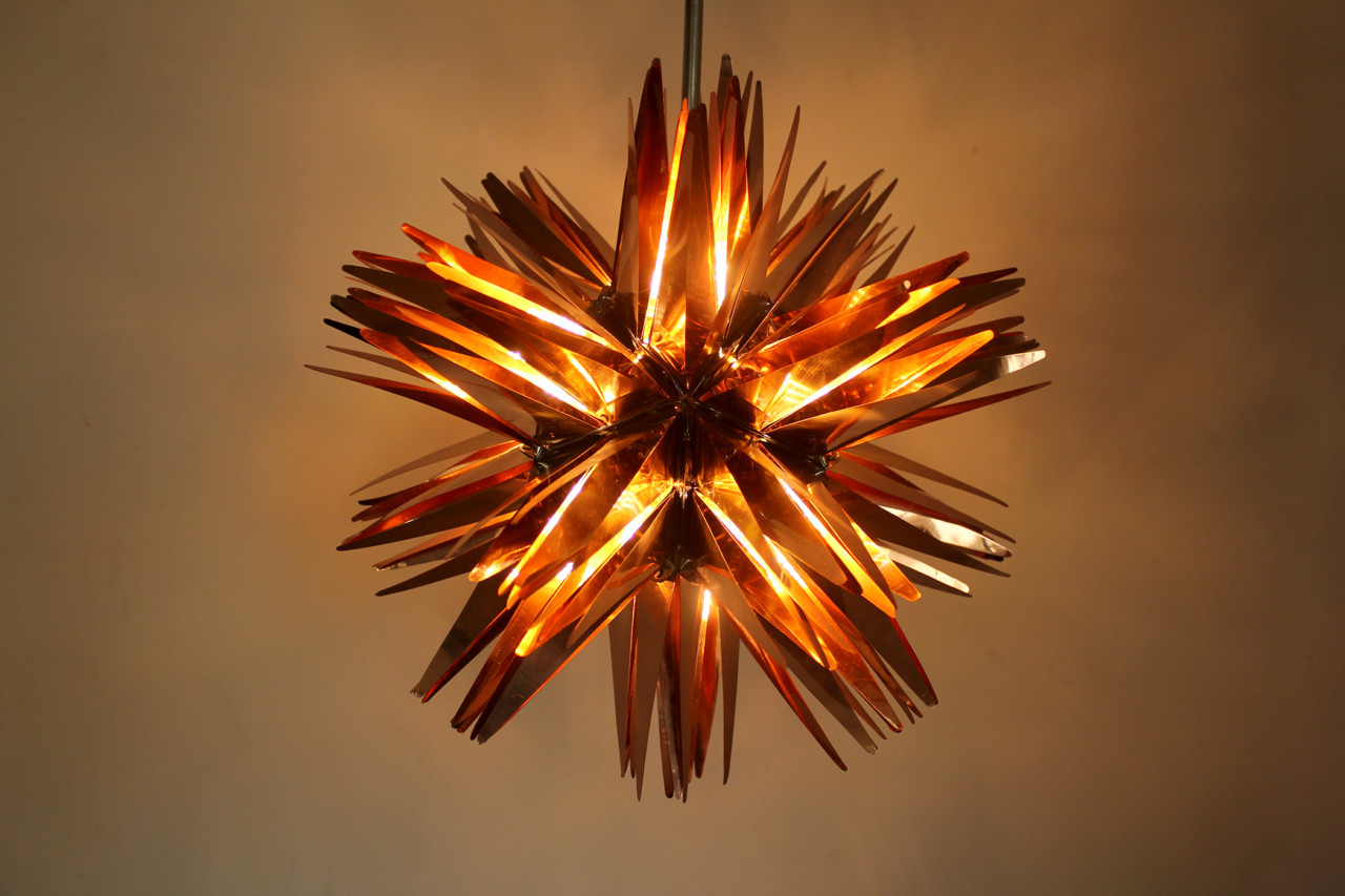 A Lighting Series Inspired by Holy Fire by Studio Avni
