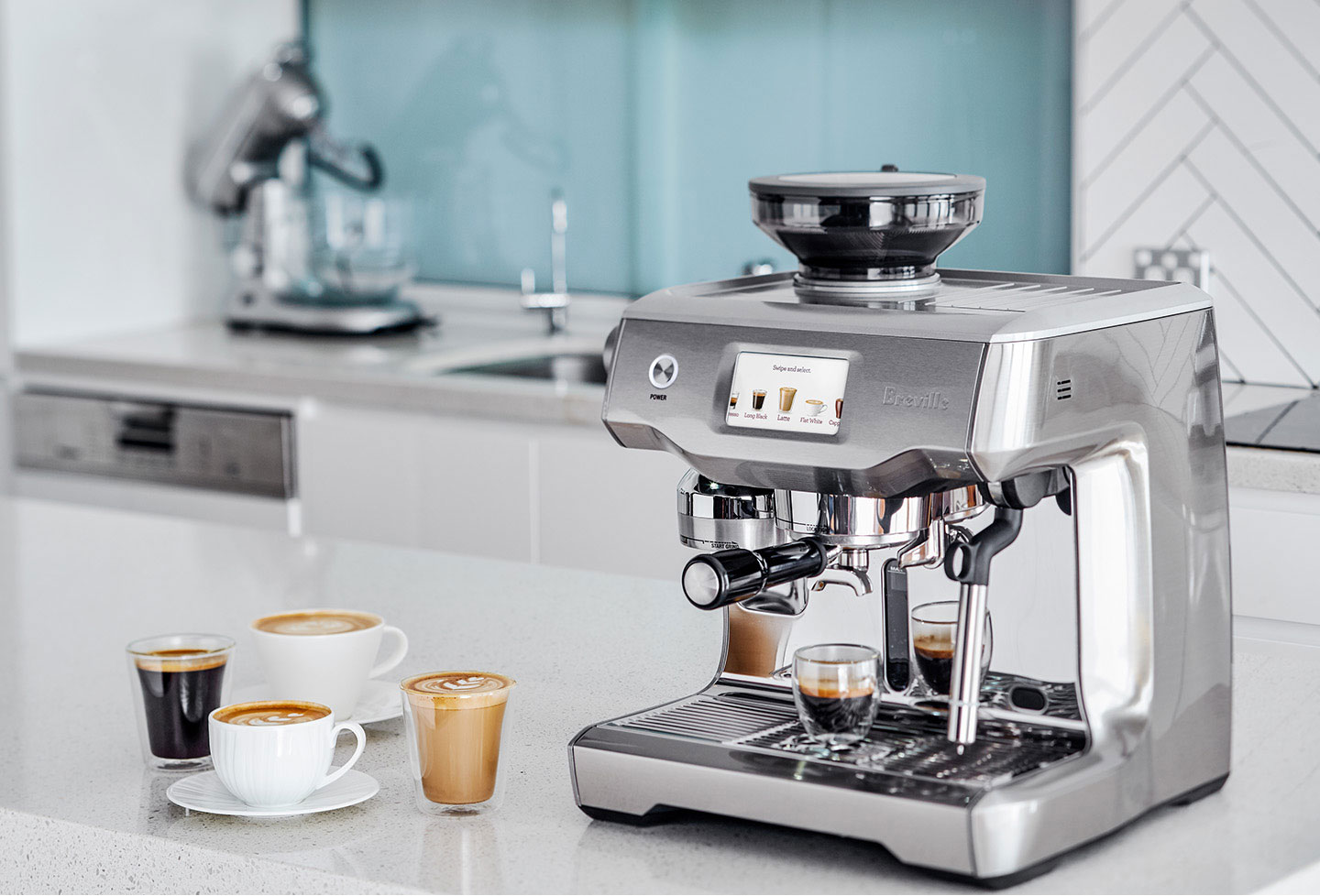 The Breville Oracle Touch Achieves Higher Ground With a Swipe and a Tap