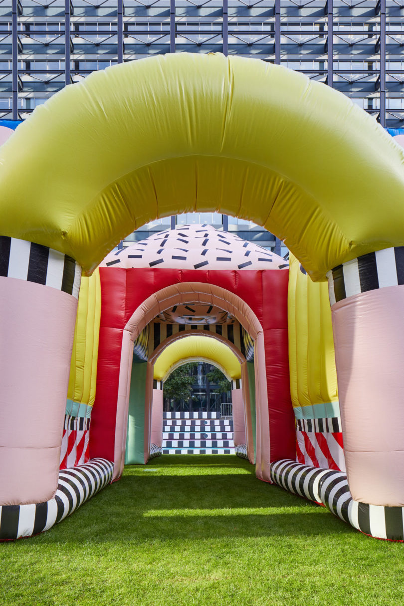 Villa Walala: A Landmark Project by Camille Walala for LDF 2017