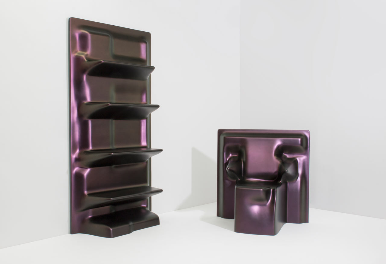 Digitally Draped Furniture That Mimics Real Fabric by Christopher Stuart