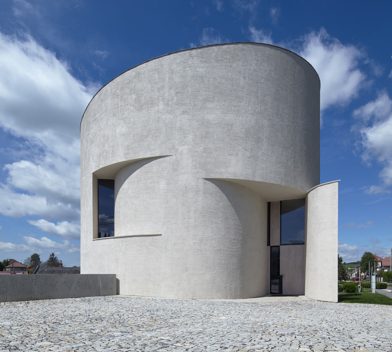 Contemporary Rotunda in the Czech Republic by Atelier Štepán