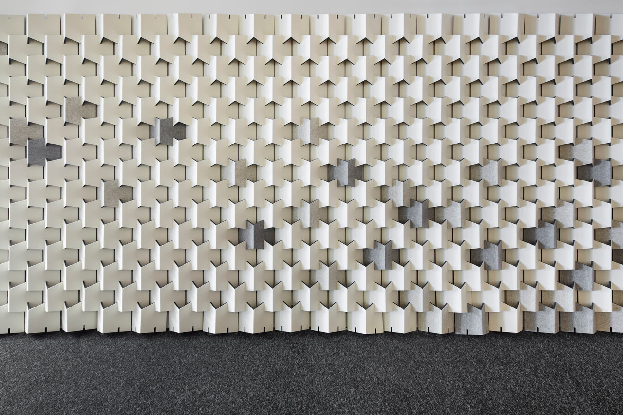 Scale Folded Acoustic Modules By Cabs Design For Filzfelt