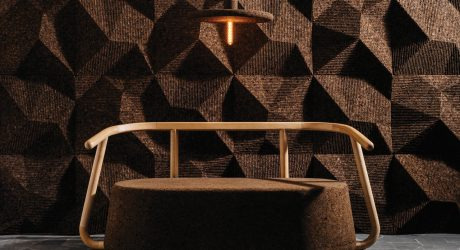 Gencork Debuts Cork Furniture and Surfaces by DIGITALAB