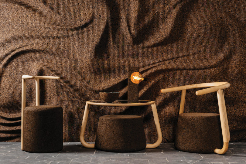 Exceptionnel The DIGITALAB Duo Created Seating, Tables, Lighting, And Wall Surfaces That  Will Transform Your Idea Of What Can Be Done With Cork. The Furniture  Merges ...