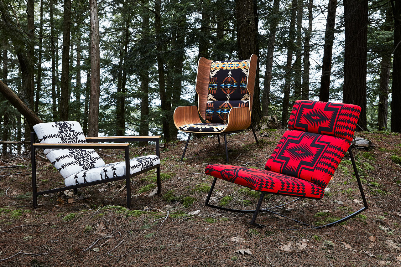 Gus* Modern X Pendleton Woolen Mills Collaborate On Chair Collection ...