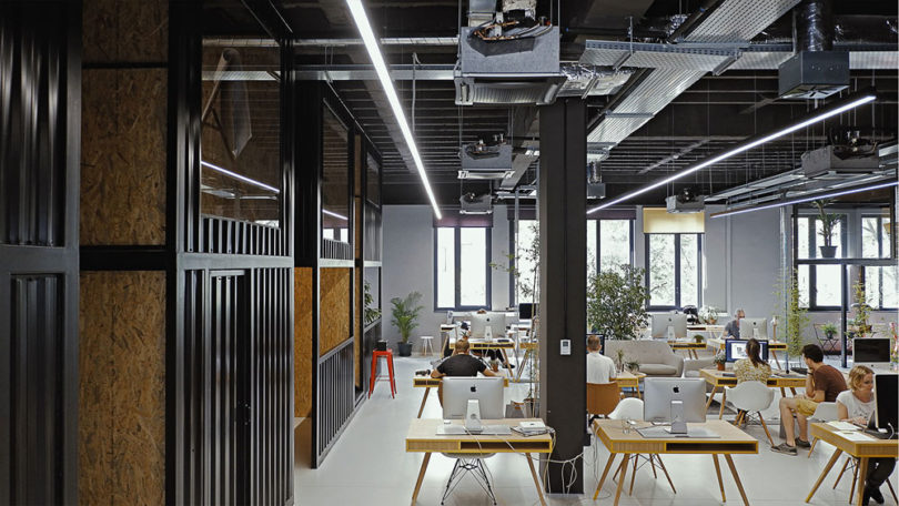 creative agency office. Spanning 430 Square Feet, The New Offices Were Built To Create A Culture Of Collaboration And Communication Between Employees Leading An Open Space Creative Agency Office