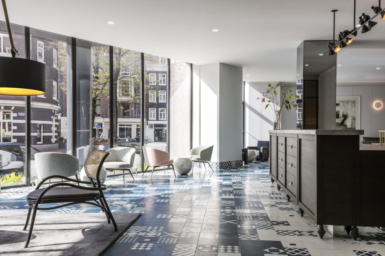 Michaelis boyd highlights dutch and modern design at the for Design hotels amsterdam