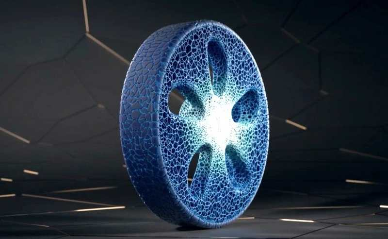 Michelin 3D-Printed Concept Tire Treads Boldly Forward
