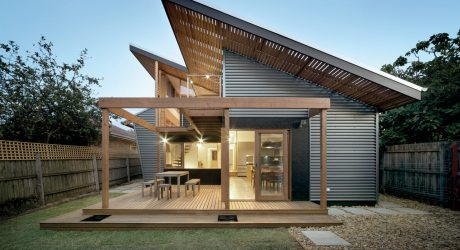 A Period Home in Melbourne with a New Modern Addition