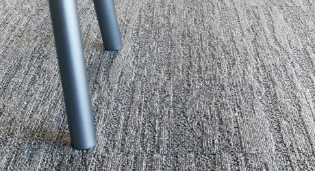 Patcraft's Deconstructed Metal Carpet Tile Collection