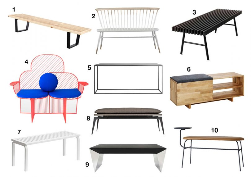 Cool Modern Benches to Up Your Seating Game