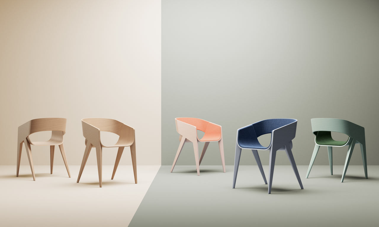 Attirant SLIM Chair By Christophe De Sousa ...