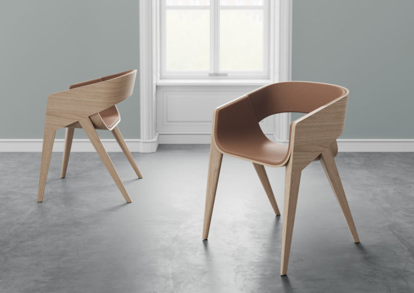 Charmant SLIM Has A Sleek Silhouette Appearing To Be Made Of Two Molded Components,  One That Makes Up The Sides And Back Of The Chair, And The Other That Forms  The ...