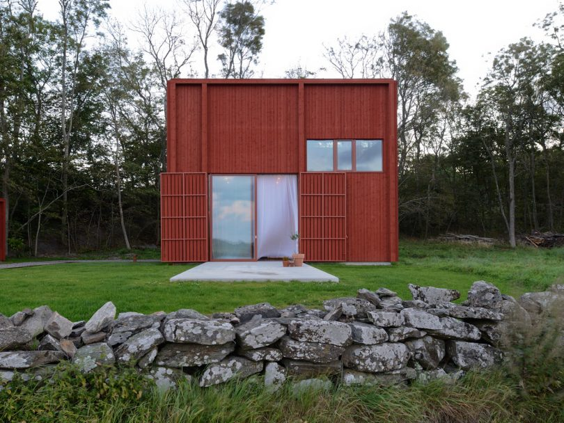 Späckhuggaren: A House for a Drummer on Sweden's West Coast