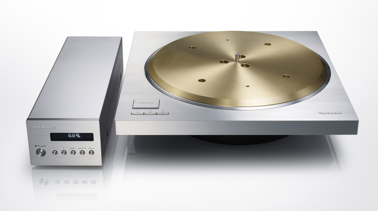 The Technics SP-10R Turntable Spins 7kg of Brass