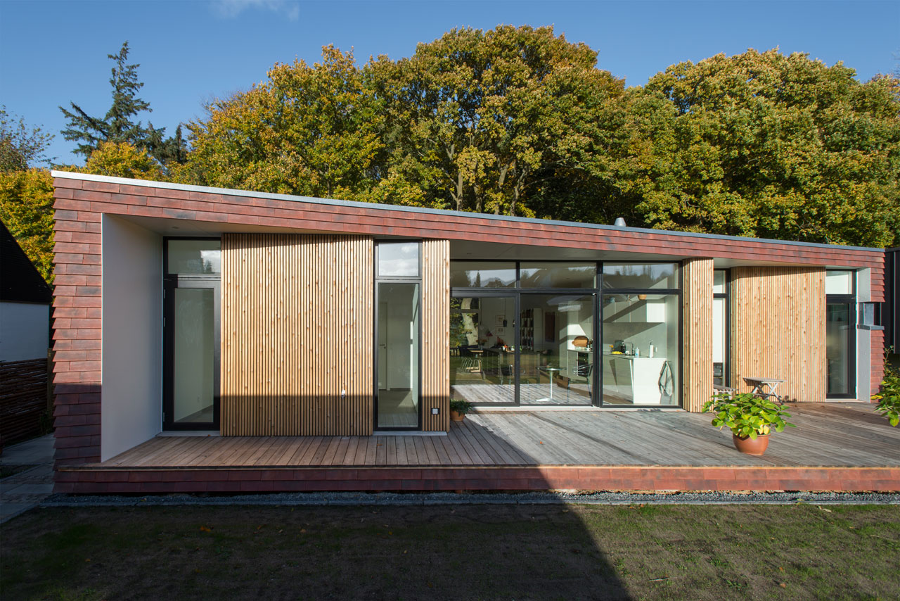 Villa Rypen: A Modern House on the Edge of a Forest in Aarhus, Denmark