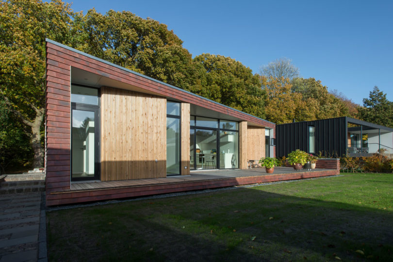 Villa Rypen: A Modern House on the Edge of a Forest in Aarhus ... on