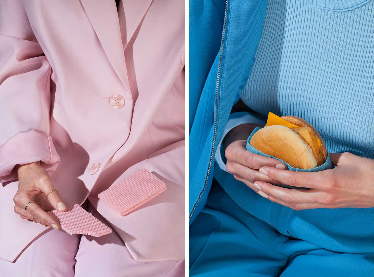 Wardrobe Snacks: A Project Inspired by Diners Lacking a Table