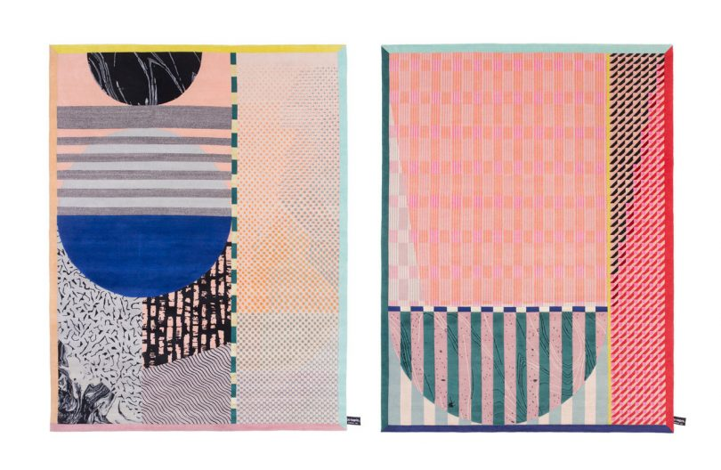 Colorful, Patterned Rugs by Alex Proba for cc-tapis