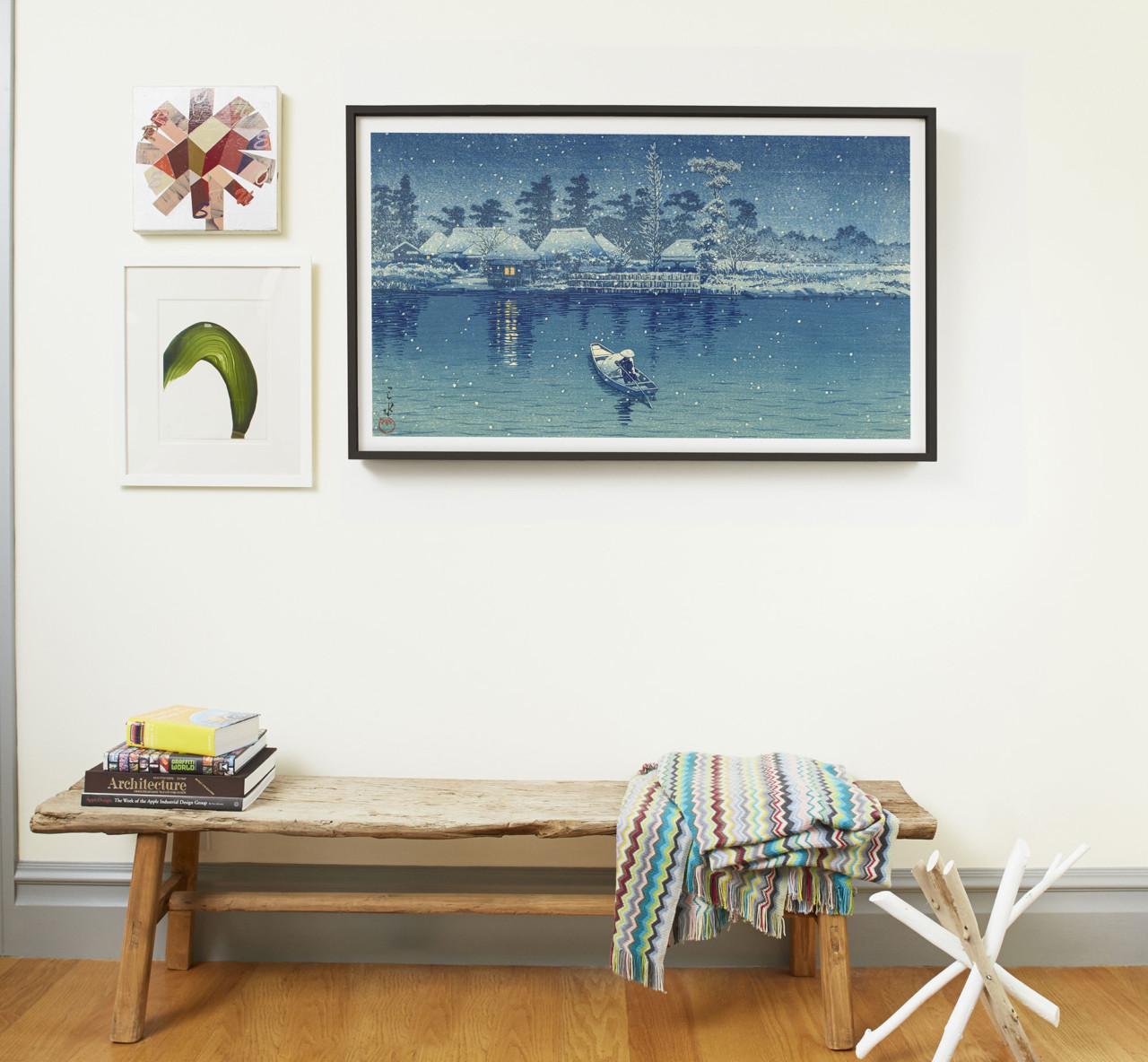 The Depict Frame Adds a Twist to Digital Art Canvas - Design Milk