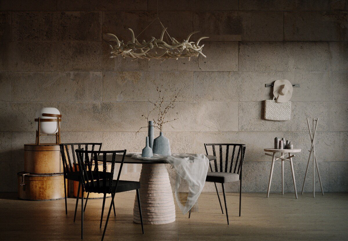 FAINA: A Contemporary Furniture Collection Designed with Traditional Pottery Techniques