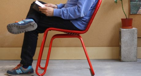 Inspired by Bus Seats, the Loop/L60 Chair Mimics a Bus Ride