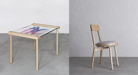 Furniture as Art: The Canvas Chair and the Blank Table by Stoft Studio