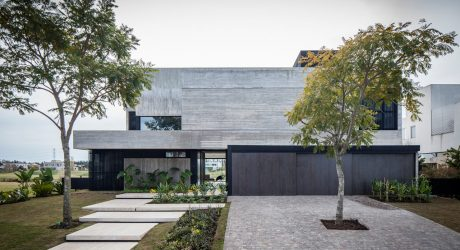 The FSY House Overlooks a Lagoon Just Outside of Buenos Aires