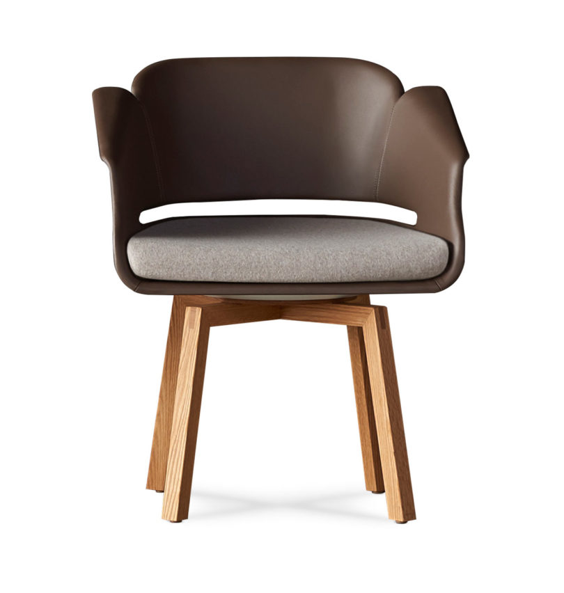It comes with various bases including wood making it a practical addition to any lobby lounge office boardroom or library.  sc 1 st  Design Milk & The Lyss Chair by Carl Gustav Magnusson for Allseating - Design Milk