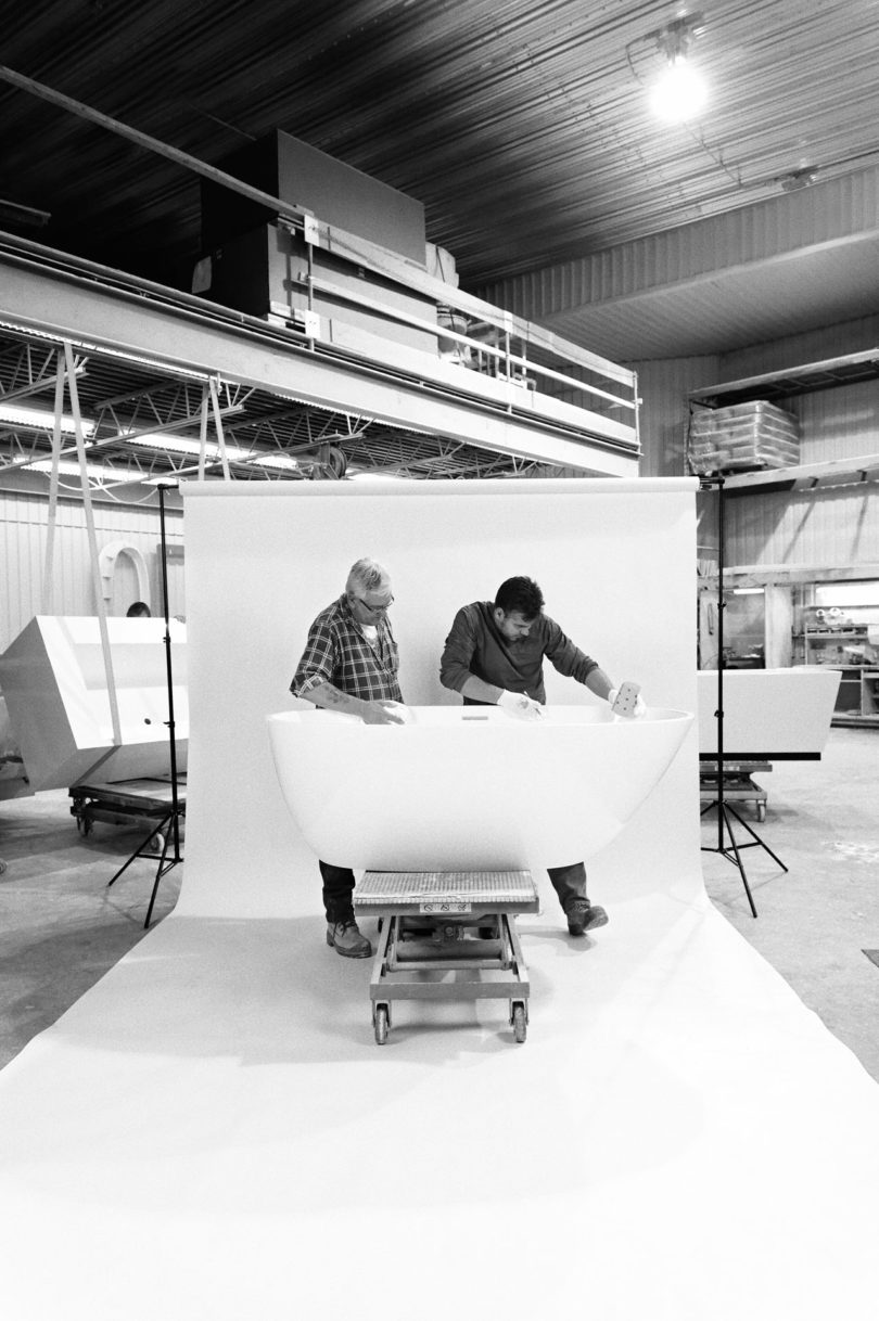 Behind The Scenes Of WETSTYLE: WETSTYLE Has Over 25 Years Of Experience  Producing Composite Bathtubs, Sinks, And Bathroom Furniture To Help  Designers, ...