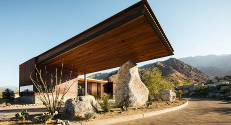 Desert Palisades Guardhouse by Studio AR+D Architects