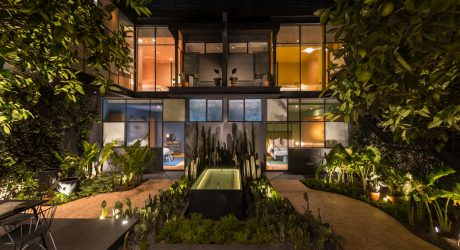 A 1913 Mexico City Mansion Renovation + a Modern Guest House