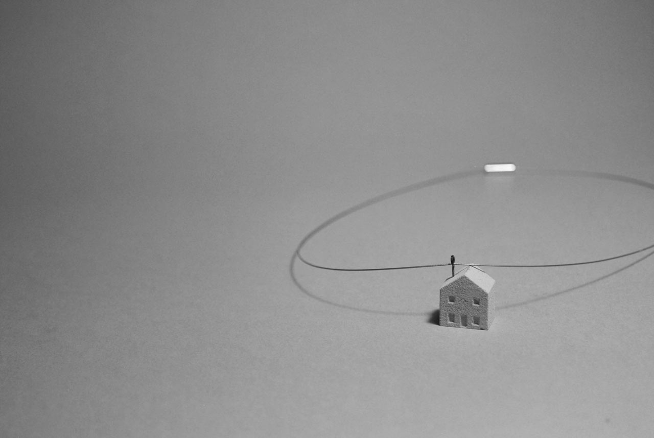 Minimal, Architecturally-Inspired Concrete Jewelry by Kahen_Design
