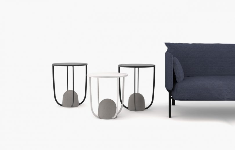 Playing with Weight: The W8 Side Table by Alain Gilles for Ligne Roset
