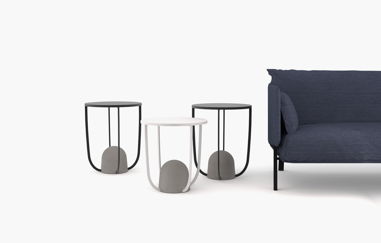 Playing with weight the w8 side table by alain gilles for ligne roset