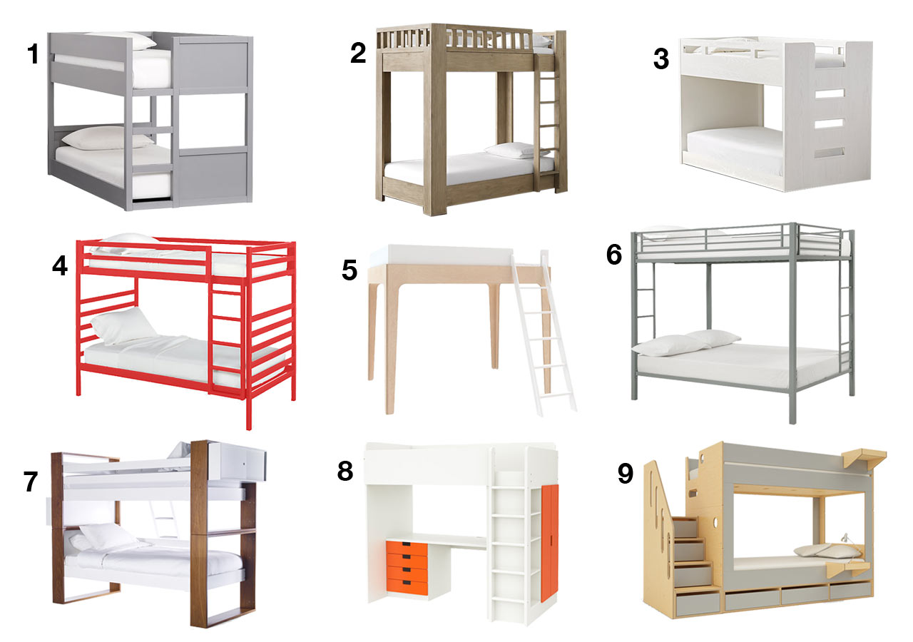 9 modern bunk beds that will bring your kids sweet dreams for Modern kids bunk beds