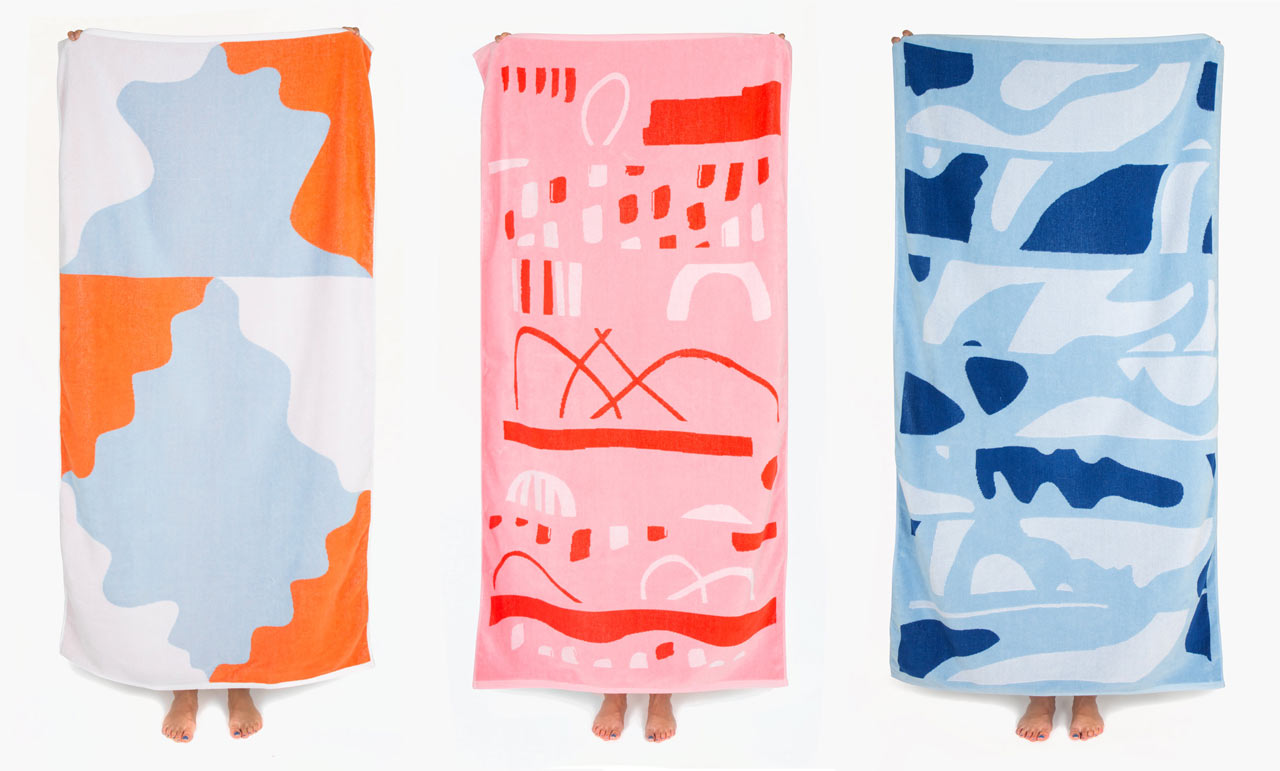 Slowdown Studio Introduces New Blankets and Beach Towels for Season Eight