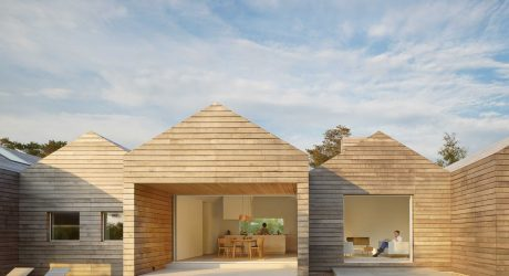 Villa N1: An All-Wood Summer House in Sweden Designed by Lindvall A & D