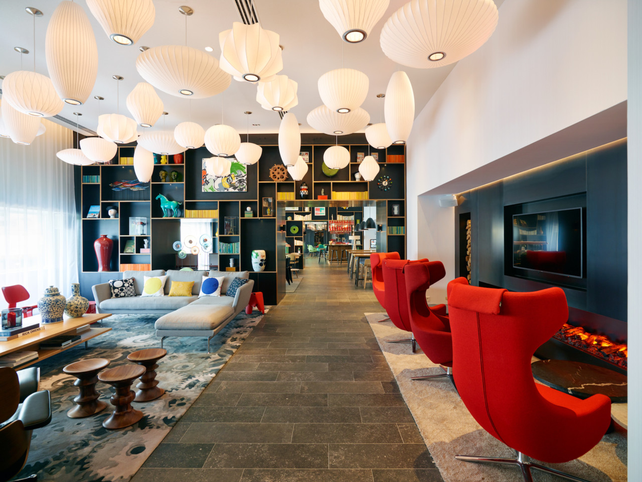 Citizenm s gare de lyon hotel is a hub for travel art and for Top design hotels in paris