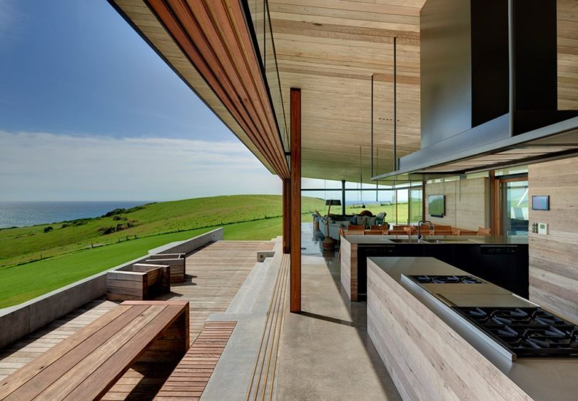Australian kitchen outdoors