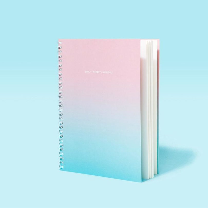 Poketo Aurora Wall And Daily Planners Color The Days Ahead Design Milk